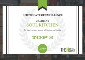 Soul Kitchen - Best Hostel Worldwide