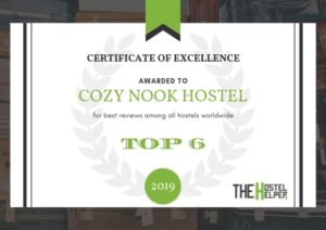 Cozy Nook Hostel - Best Hostel Worldwide