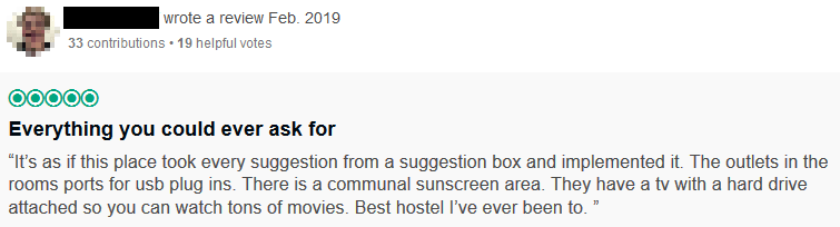 Tactic To Improve Hostel Online Rating