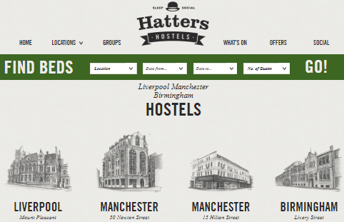 Hatters Hostel Chain