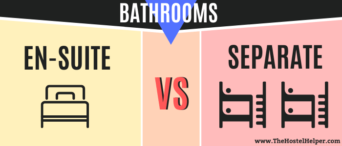 En-Suite Hostel Bathrooms vs. Separate