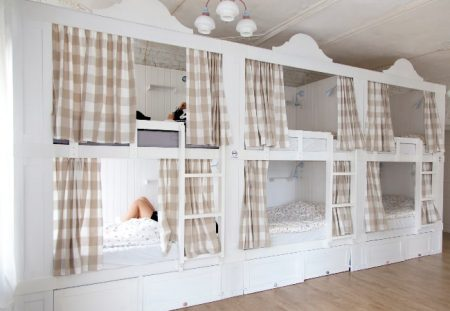 Designer Hostel Bunk Beds